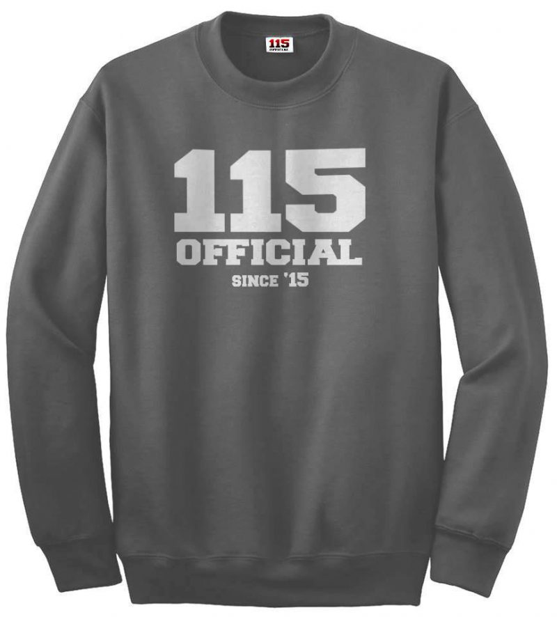 115 Official Crewneck Sweatshirt /u/