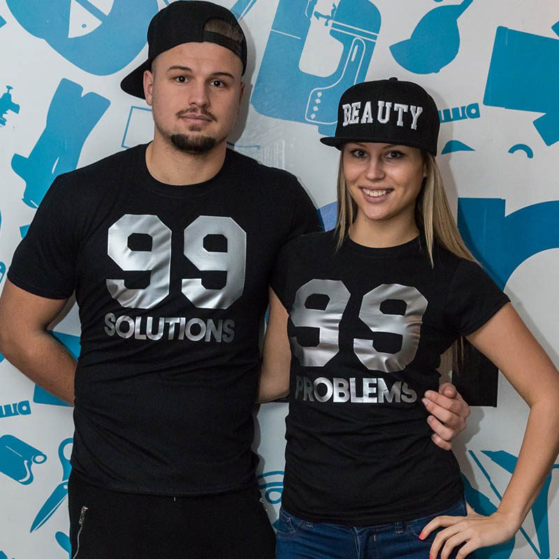 99 problems w 99 solutions páros póló