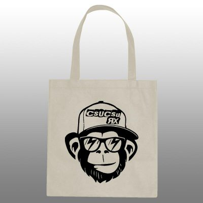 Monkey Natural Totebag