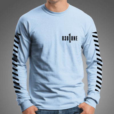 STRIPES Longsleeve Tee /lightblue
